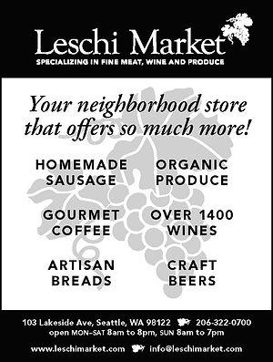 Leschi Market - advertising