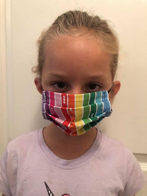 Masque enfant rainbow
