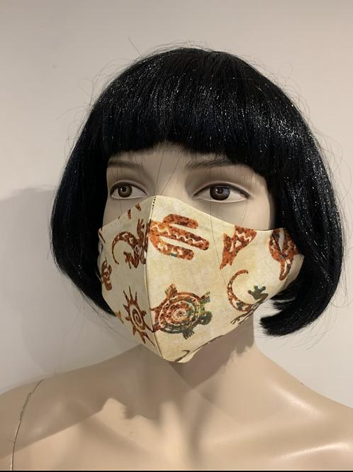 Masque moulé maori