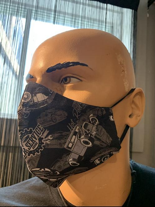 Masque moulé kustom garage