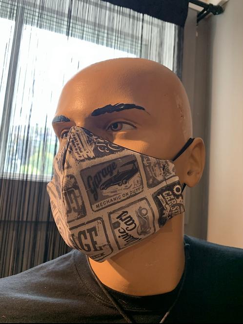 Masque moulé gazoline