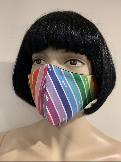 Masque moulé rainbow