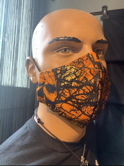 Masque moulé Halloween