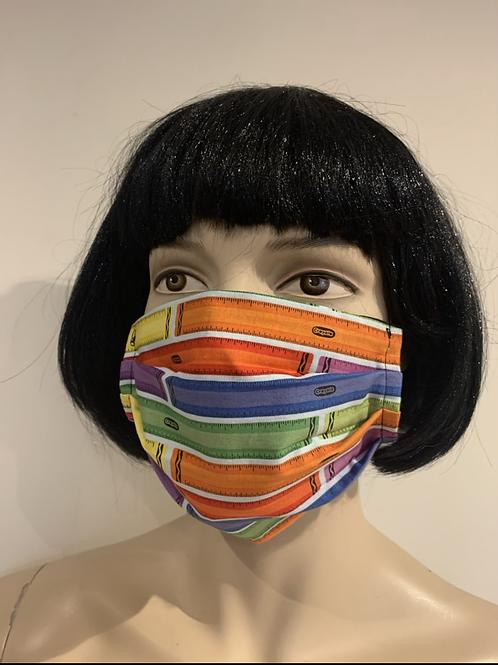 Masque crayola