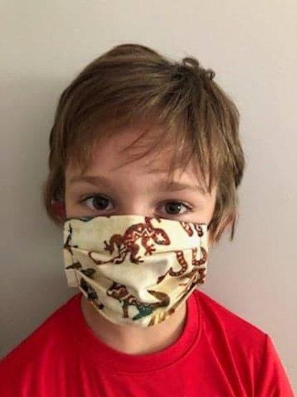 Masque enfant maori