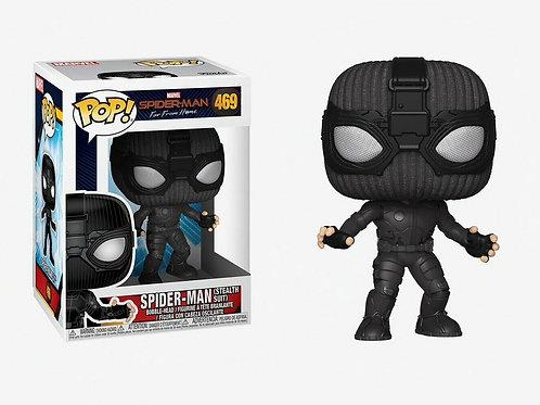 Funko Spider-man Far From Home Spider-man (Stealth Suit) Pop! Vinyl Figure #469