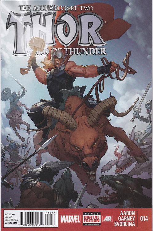Thor God of Thunder #14