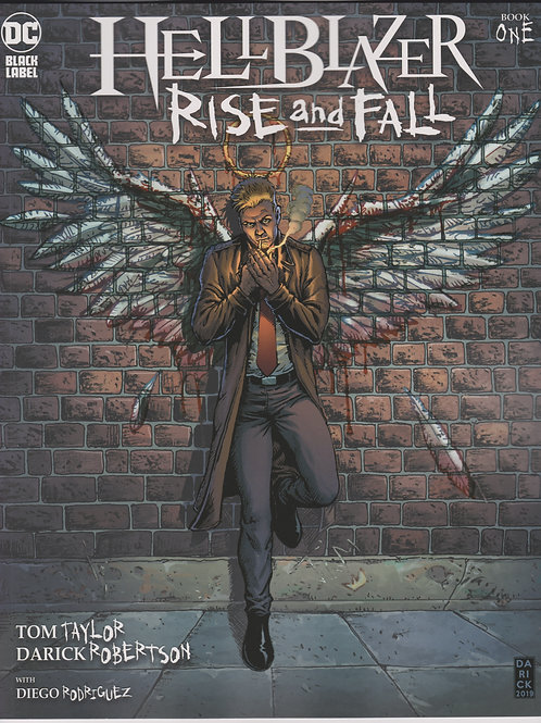 HellBlazer Rise and Fall #1 (of 3)