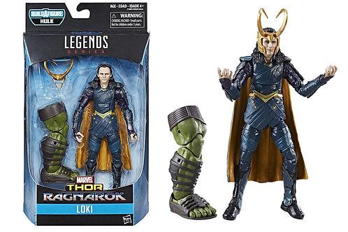 Marvel Legends Series Thor Ragnarok Loki w/ Hulk Leg