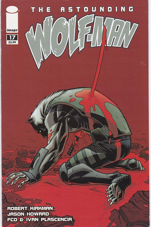 The Astounding Wolfman #17