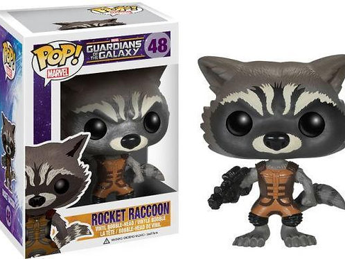 Funko Pop! Marvel's Guardians of the Galaxy Rocket Raccoon #48