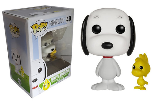 Funko Pop! Peanuts Snoopy & Woodstock Vinyl Figure #49