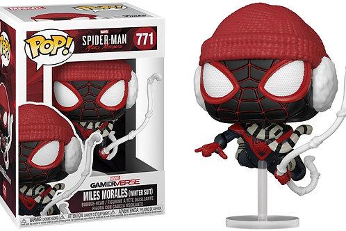 Funko Pop! Marvel Spider-man Miles Morales (Winter Suit) Vinyl Figure #771