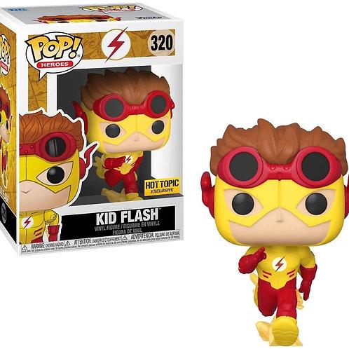 Funko The Flash Kid Flash Hot Topic Exclusive Pop!  #320