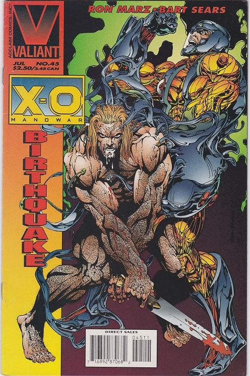 X-O Manowar #45