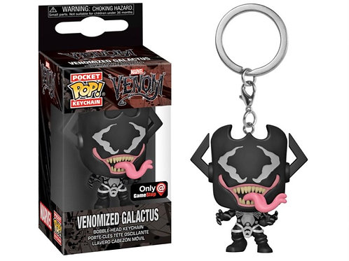 Funko Venomized Galactus GameStop Exclusive Pocket Pop! Keychain