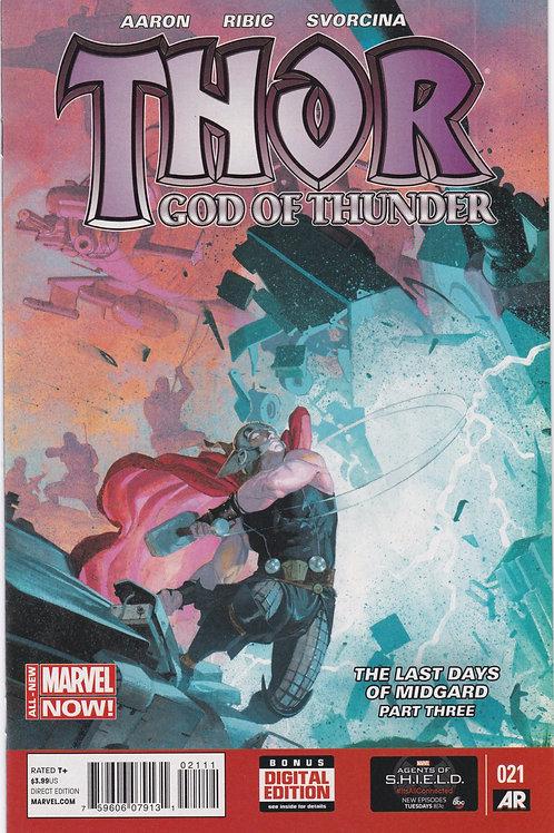 Thor God of Thunder #21