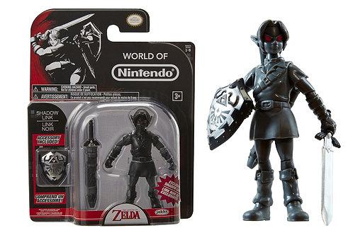 World of Nintendo The Legend of Zelda Shadow Link Action Figure