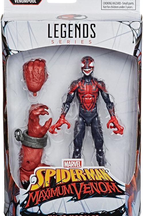 Marvel Legends Series Miles Morales Maximum Venom with Venompool Arm