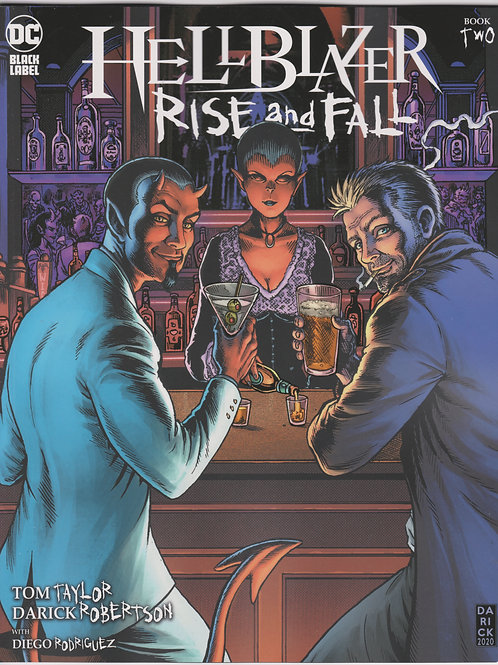 Hellblazer Rise and Fall #2 (of 3)