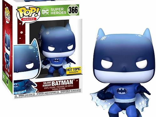 Funko DC Super Heroes Silent Knight Batman Hot Topic Exclusive Pop!  #367