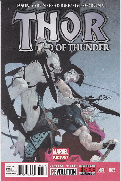 Thor God of Thunder #5