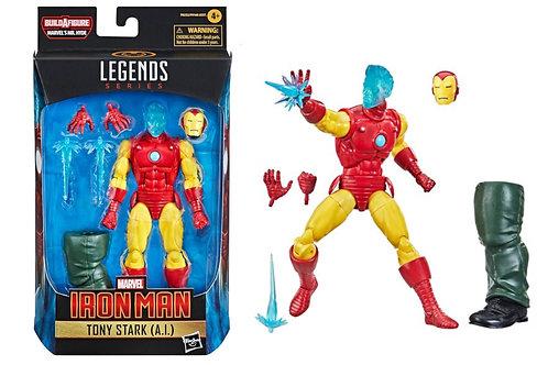 Marvel Legends Series Iron Man Tony Stark (A.I.) w/ Mr. Hyde Leg