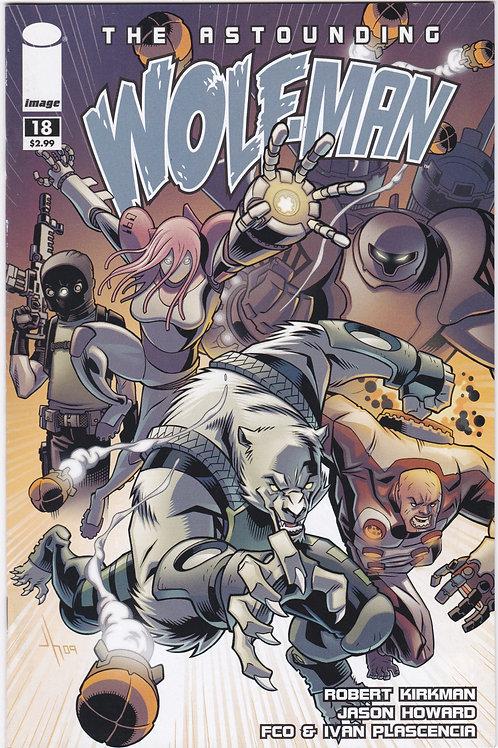 The Astounding Wolfman #18