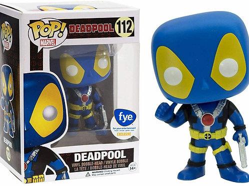 Funko Pop! Deadpool [Blue Suit] F.Y.E. Exclusive #112