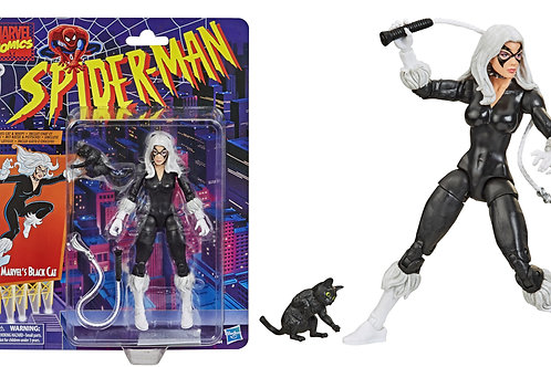Marvel Legends Retro Series Spider-man Marvel's Black Cat