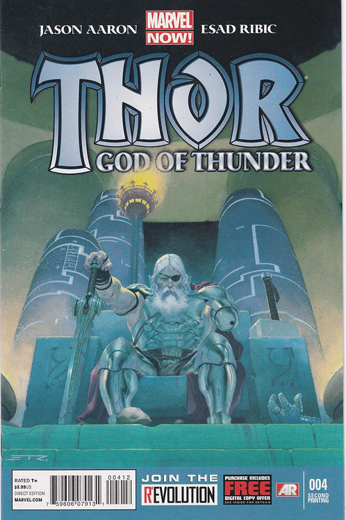 Thor God of Thunder #4 (Second Printing)