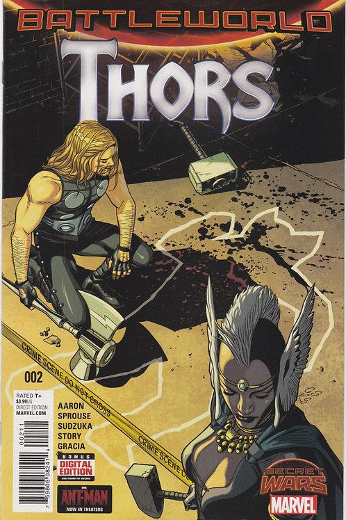 Thors : Battleworld #2