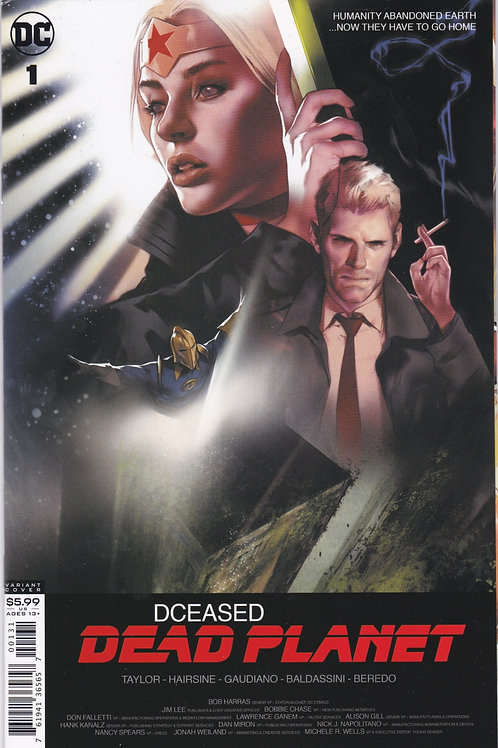 DCeased Dead Planet #1 (OF 6)