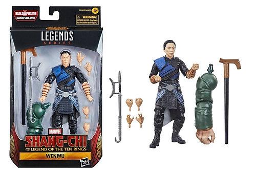 Marvel Legends Series Shang-Chi Legend of Ten Rings Wenwu w/ Mr. Hyde Arm