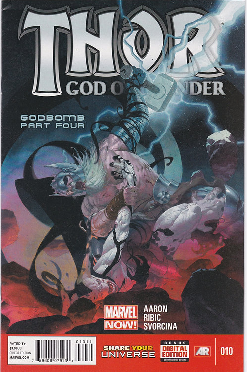 Thor God of Thunder #10