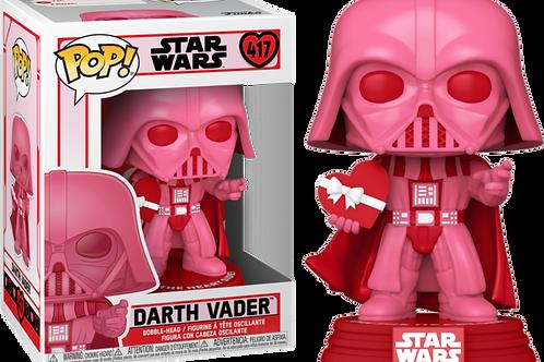 Funko Pop! Star Wars Valentines Darth Vader with Heart Vinyl Figure #417