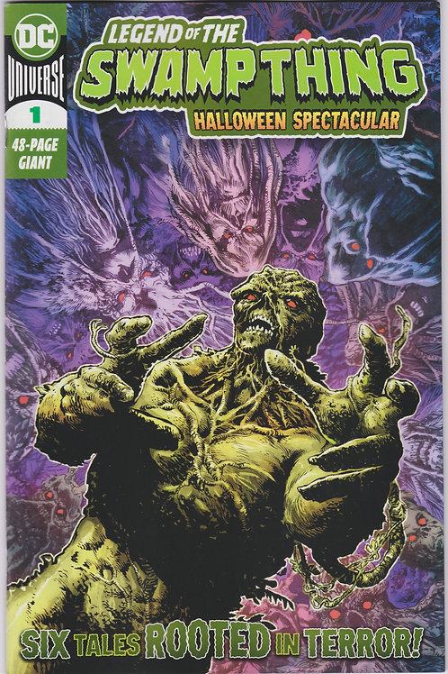 Legend Of The Swamp Thing Halloween Spectacular (One Shot)