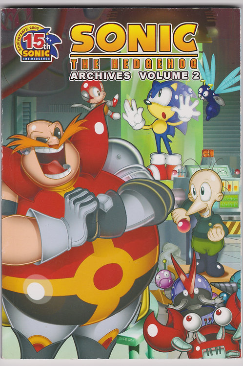 Sonic the Hedgehog Archives, Vol. 2 (1st Printing)