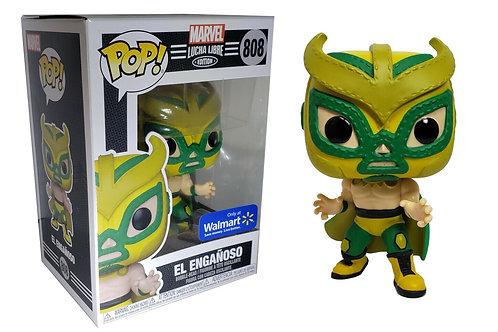 Funko Pop! Marvel Lucha Libre Edition El Engañoso Walmart Exclusive #808