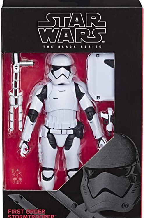 Star Wars The Black Series The Rise of Skywalker First Order Stormtrooper Figure
