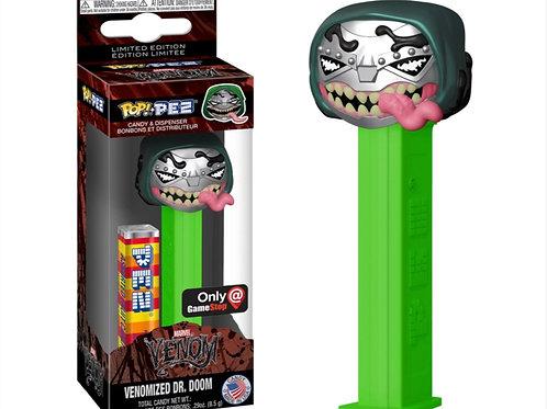 Funko Venomized Dr. Doom GameStop Exclusive Pop PEZ! Candy Dispenser [Green]
