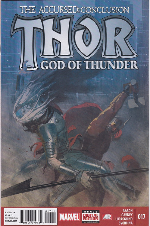 Thor God of Thunder #17