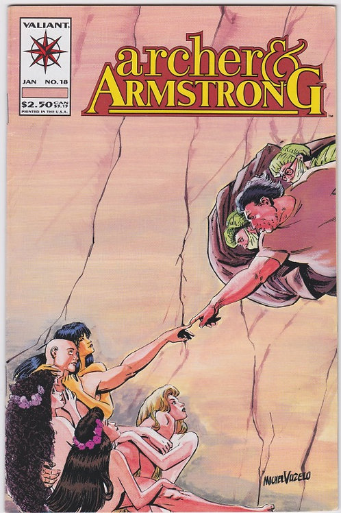 Archer & Armstrong #18