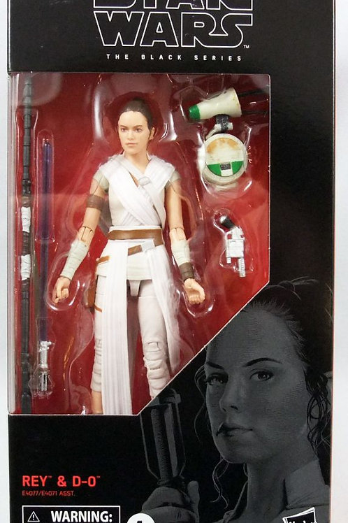 Star Wars The Black Series The Rise of Skywalker Rey and D-O 6-Inch Figure