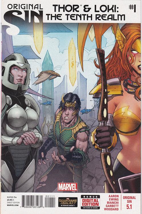 Original Sin #5.1 (Thor and Loki The Tenth Realm)