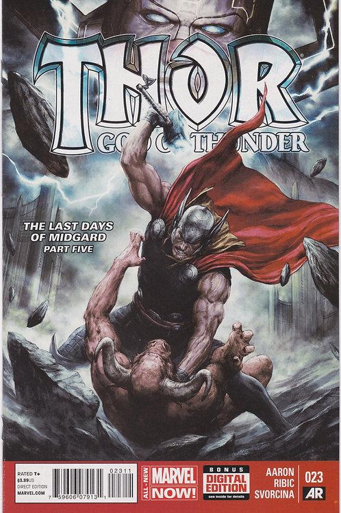 Thor God of Thunder #23