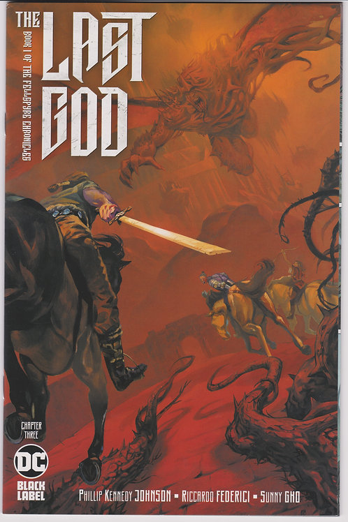 Last God #3 2nd Printing Recolored Variant