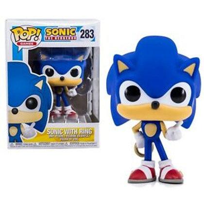 Funko Sonic The Hedgehog Sonic With Ring Pop! Vinyl Figure #283