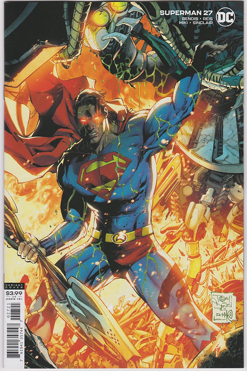 Superman #27 Cover B