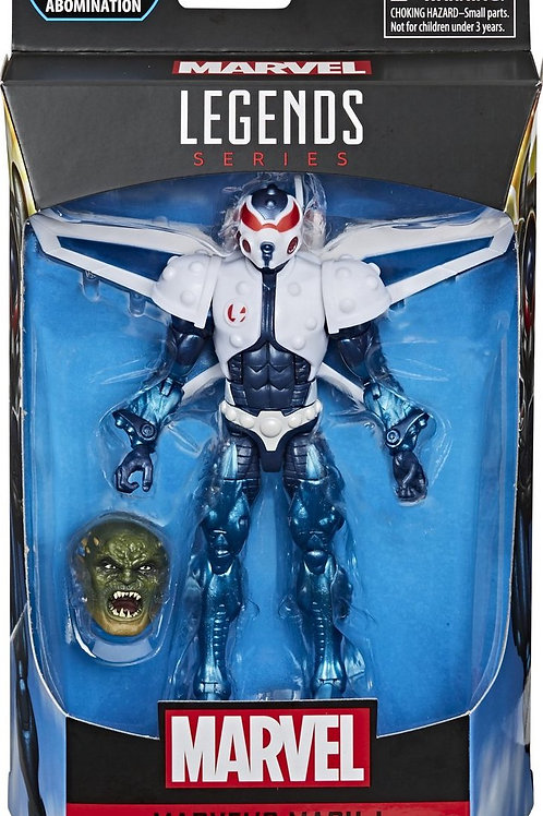 Marvel Legends Series 6-Inch Mach-I Action Figure with Abomination Head